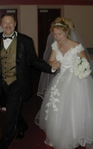 Our wonderful wedding on June 8, 2002