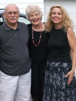Neal and Glenna Sprang with Christina Ryan Claypool, daughter