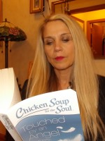 Christina Ryan Claypool Reading Chicken Soup for SDN