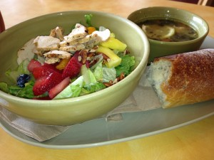 A Healthy Meal from Panera Bread