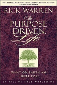 Purpose Driven Life cover